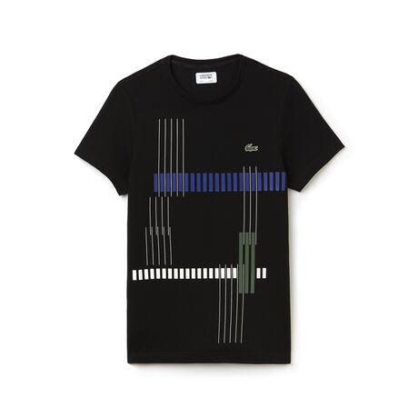 Herren-Shirt gestreift aus Funktionsjersey LACOSTE SPORT TENNIS