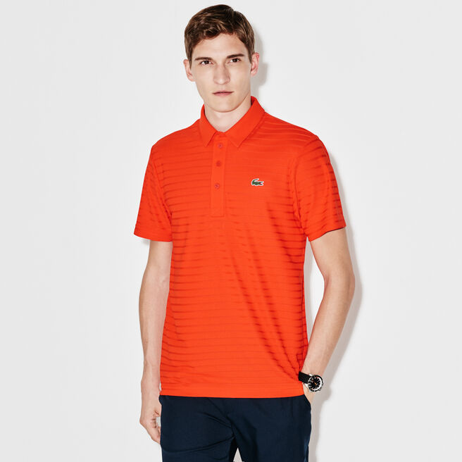 Herren-Funktions-Polo aus Jacquard-Jersey LACOSTE SPORT GOLF