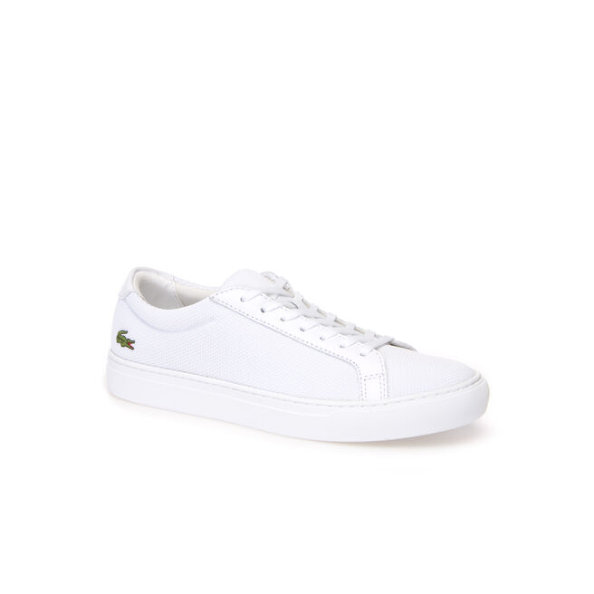 Herren-Sneakers L.12.12 aus Piqué-Canvas