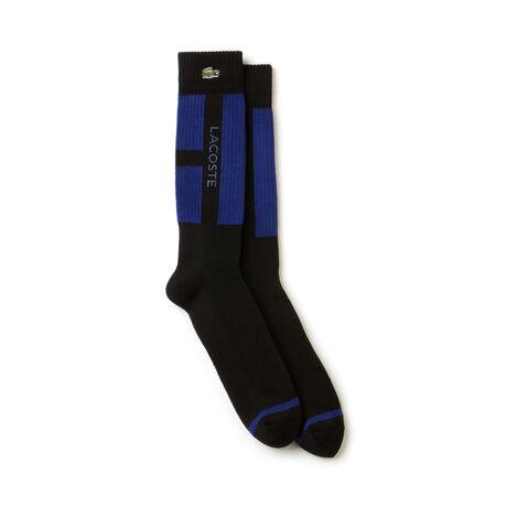 Herren-Socken aus Jersey mit Colorblocks LACOSTE SPORT TENNIS