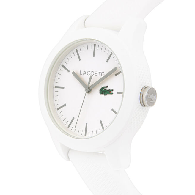 Relógio Lacoste.12.12 de silicone