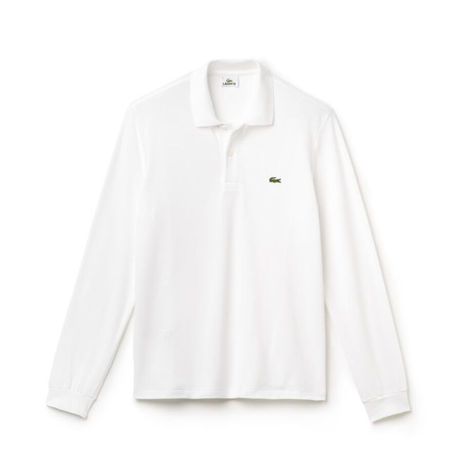 Customised Long Sleeve Lacoste Polo
