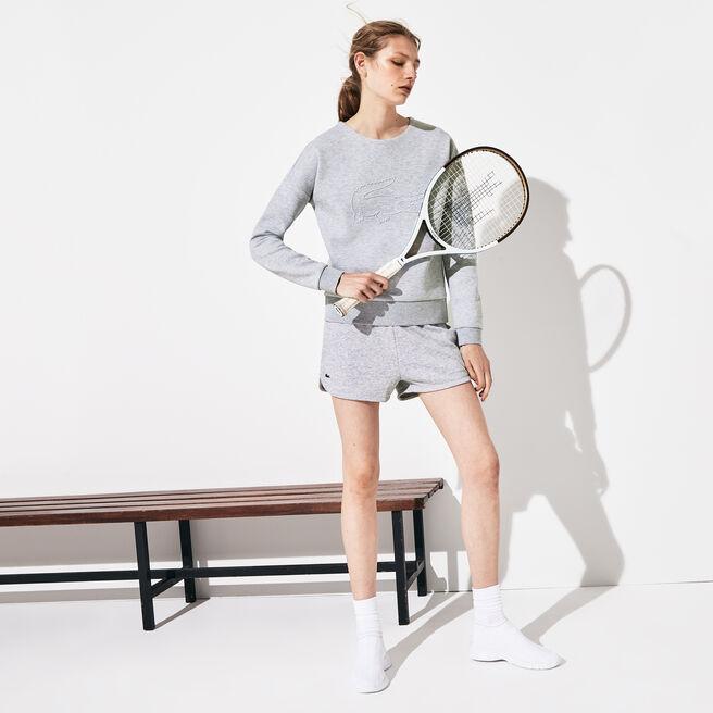 Women's Lacoste SPORT Tennis Fleece Shorts