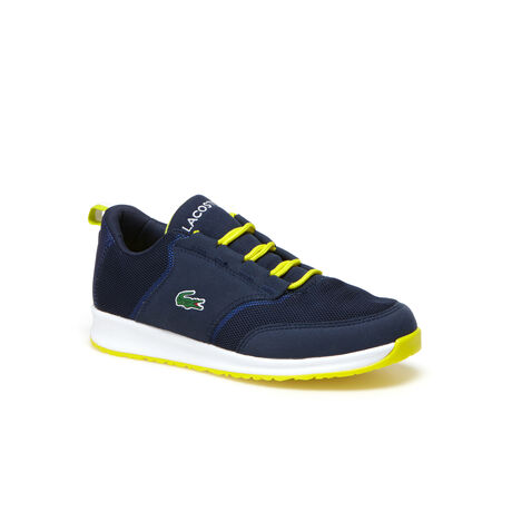 Kids' L.IGHT Breathable Canvas Trainers
