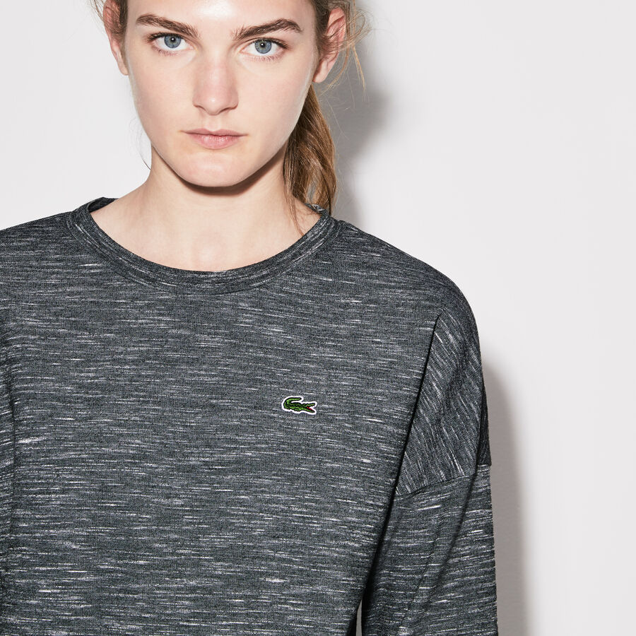 Women's Lacoste SPORT Technical Fleece And Taffeta Tennis...