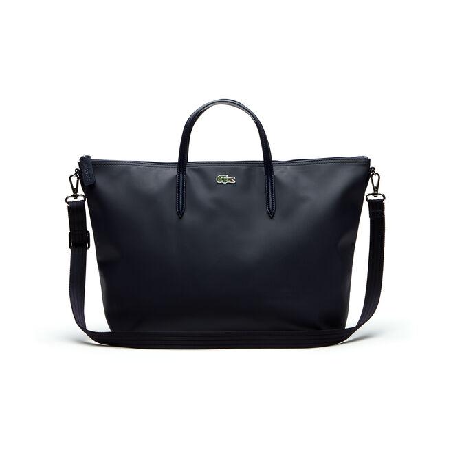 Damen L.12.12 Concept Dual Carry Tote Bag mit Reißverschluss