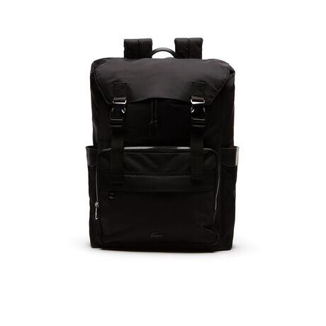Leichter Herren-Rucksack PETE aus Nylon mit Klappe
