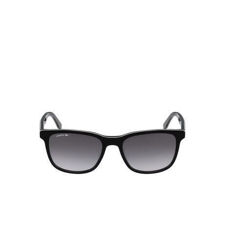 Schwarze Colorblock-Sonnenbrille