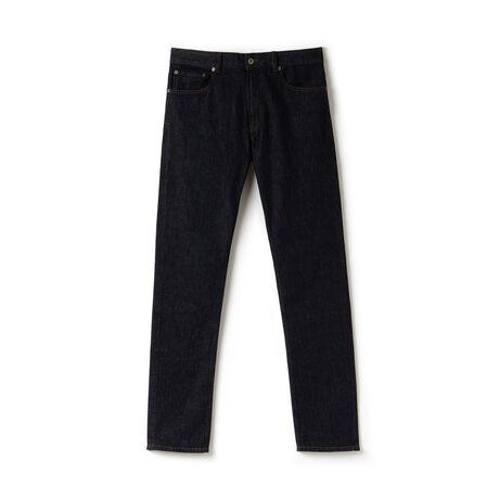 Slim Fit Herren-Jeans aus Stretch-Baumwolle mit fünf Taschen