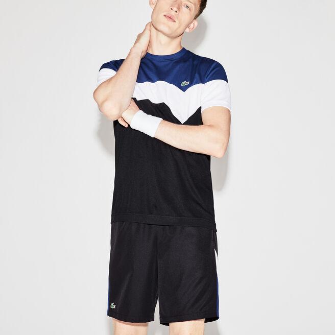 Herren-T-Shirt aus Funktionspiqué Colorblock LACOSTE SPORT TENNIS