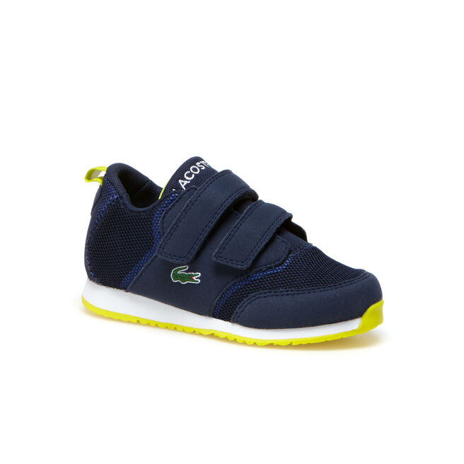 Kids' L.IGHT Breathable Canvas Double Klettverschluss Strap Sneakers