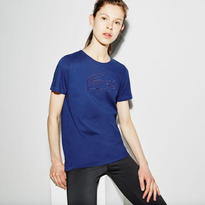 Damen-Shirt Funktionsjersey mit Stickerei LACOSTE SPORT TENNIS