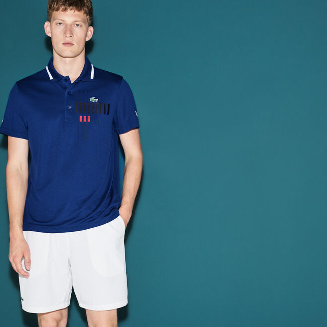 Lacoste polo Kollektion für Novak Djokovic - Exclusive Blue Edition