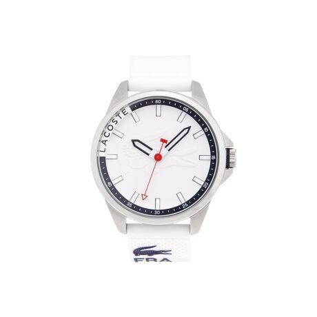 Uhr Capbreton mit blauem Silikonarmband
