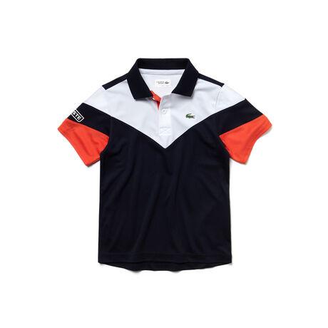 Jungen-Funktions-Polo mit Colorblocks LACOSTE SPORT TENNIS