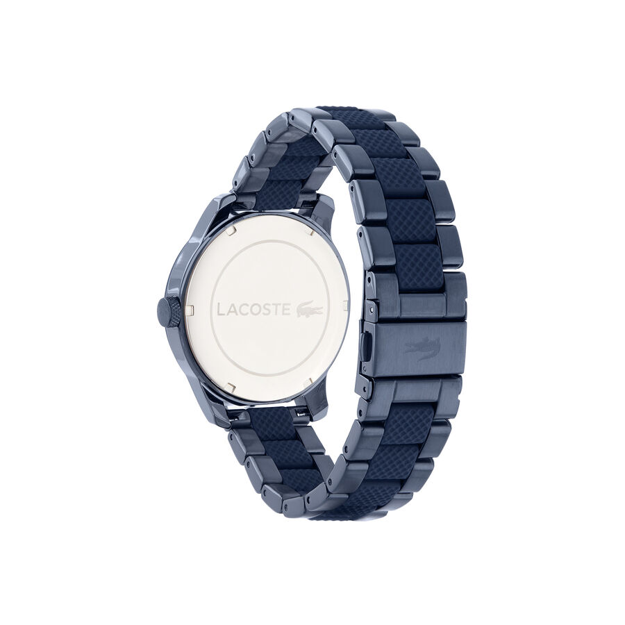 Men's Lacoste 12.12 Watch with Bi-material Blue Silicone and...