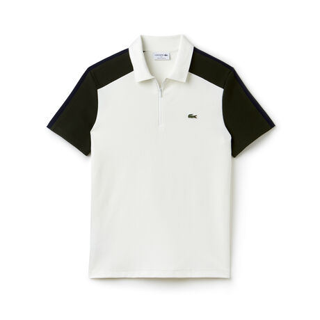 Men's Lacoste Made In France Regular Fit Colorblock Piqué Polo