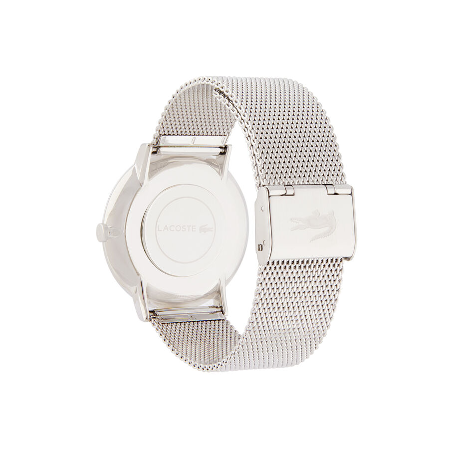 Men's Moon Ultra Slim Watch with Stainless Steel Mesh Bracelet