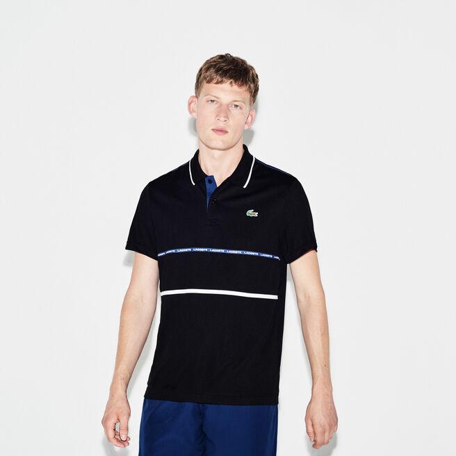 Men's Lacoste SPORT Tennis Contrast Band Technical Piqué Polo