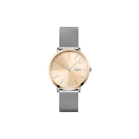 Women's Moon Watch with Silver Mesh Strap