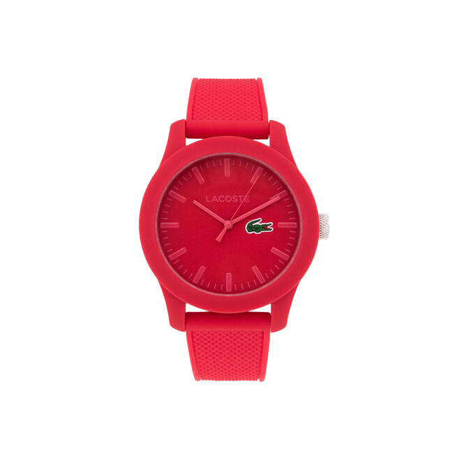 Watch LACOSTE.12.12 with silicone strap