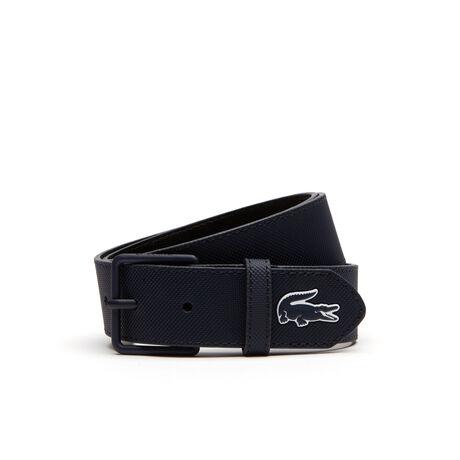 Men's L.12.12 Concept Tongue Buckle Monochrome Belt