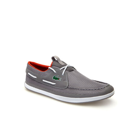 Men's L.andsailing Textile Boat Shoes