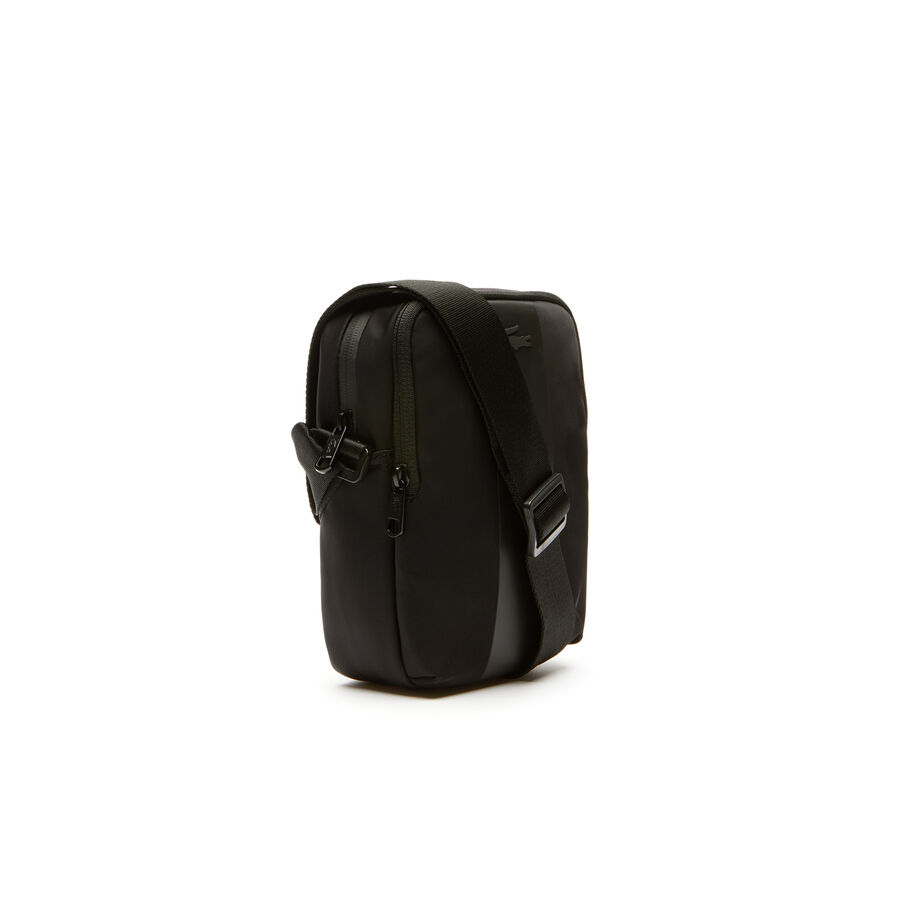 Men's Urban Trek Contrast Band Nylon Vertical Bag