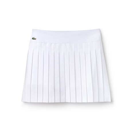Jupe plissée Tennis Lacoste SPORT en maille technique