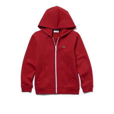 Sweatshirt Enfant zippé à capuche en molleton