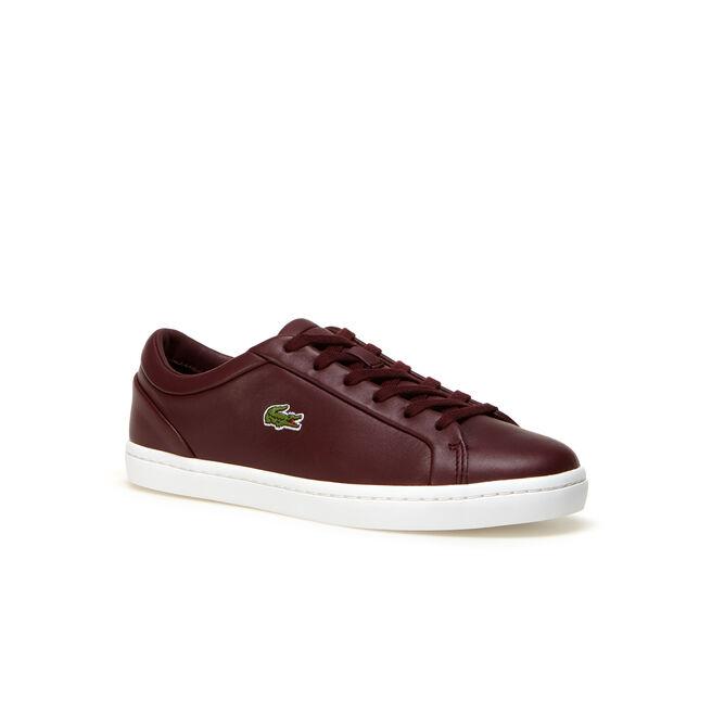 Sneakers Straightset Lace en cuir