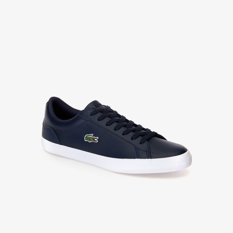 Sneakers Lerond en cuir monochrome