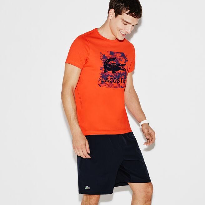 T-shirt Tennis Lacoste SPORT en jersey technique avec imprimé