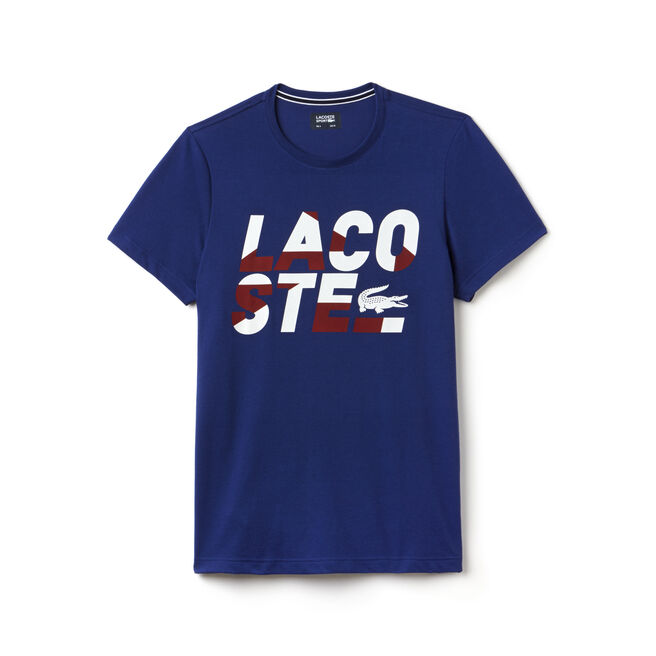 T-shirt Tennis Lacoste SPORT en jersey technique avec lettrage