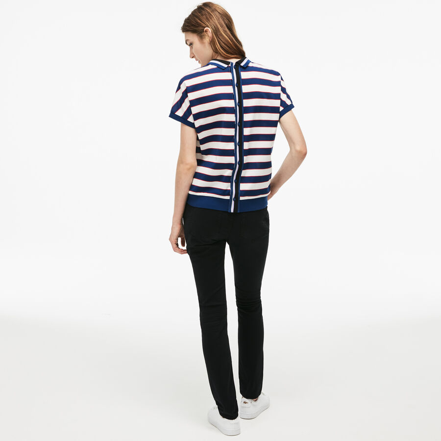 Jean slim en denim de coton stretch