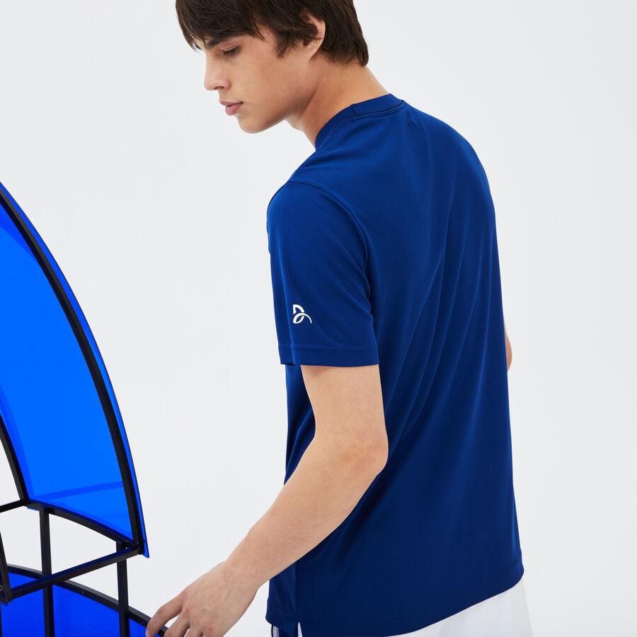 T-shirt LACOSTE SPORT COLLECTION NOVAK DJOKOVIC en piqué techniqu...