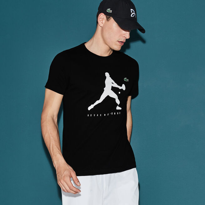 T-shirt Col Rond en Jersey Uni avec Imprimé - Collection Support With Style
