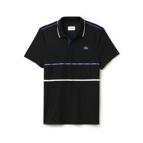 Men's Lacoste SPORT Tennis Contrast Band Technical Piqué Polo