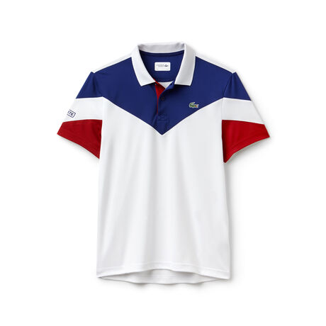 Men's Lacoste SPORT Tennis Colorblock Tech Piqué Polo