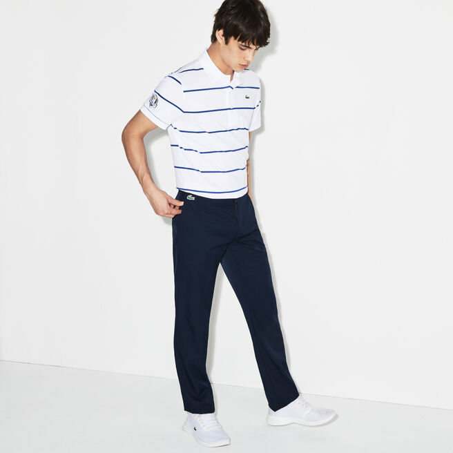 Men's Lacoste SPORT Golf chino pants in ultra-dry technical gabardine