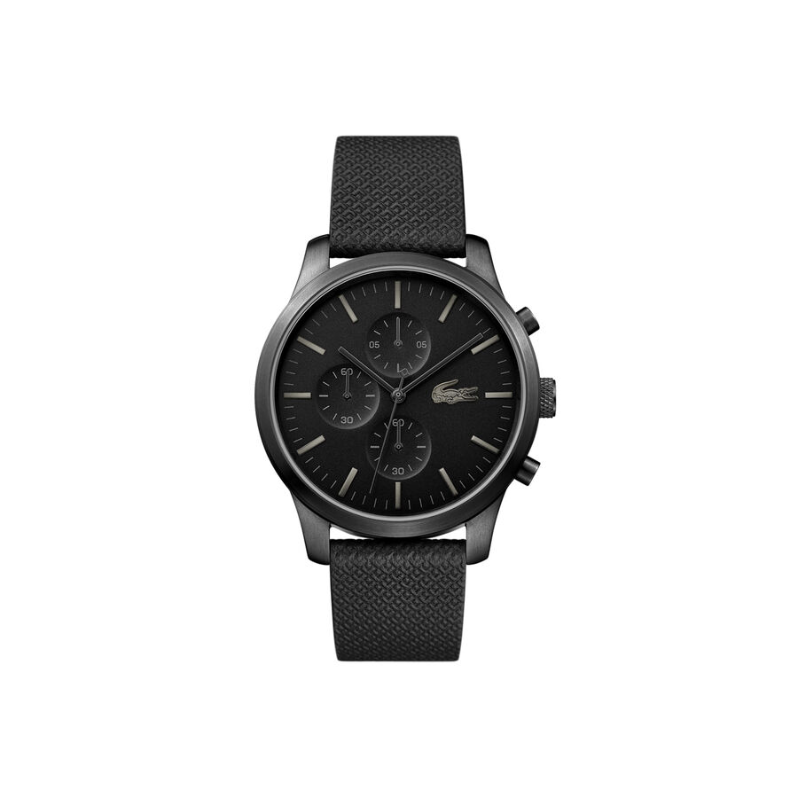 Men's Lacoste 12.12 Watch 85th Anniversary with Black Petit...