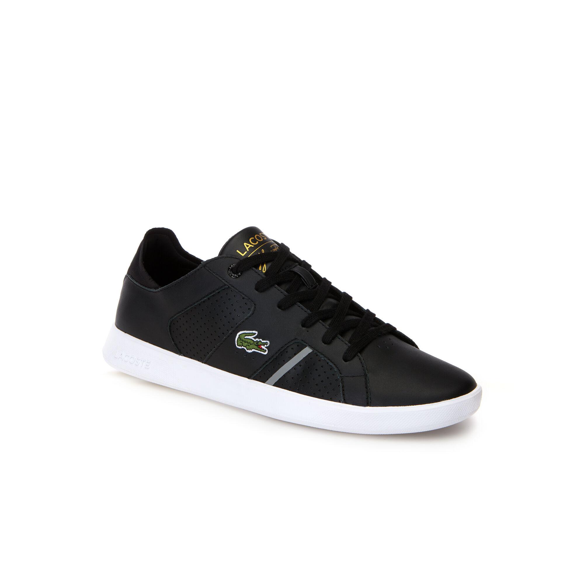 Lacoste Lerond 117 3 Sneaker Men Khaki Textile Leather the most fashion designs