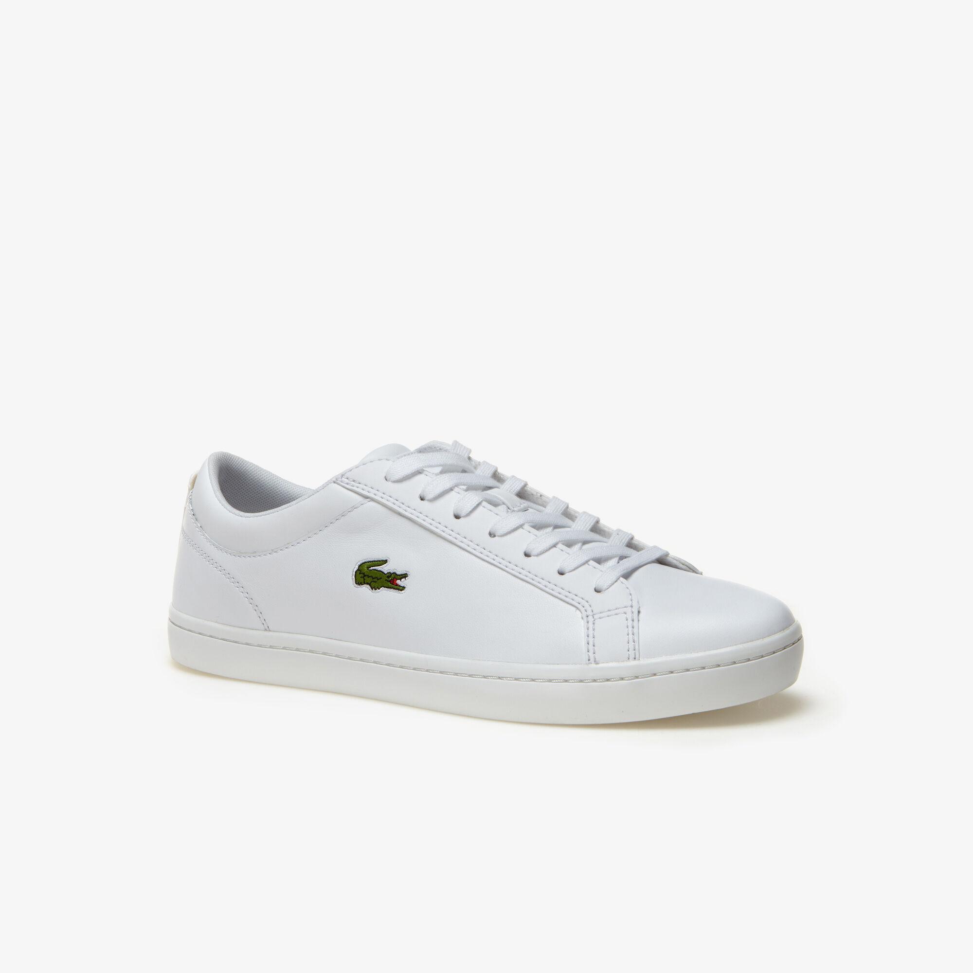 Best Lacoste for Men Straightset White Sneakers Deals 6379987