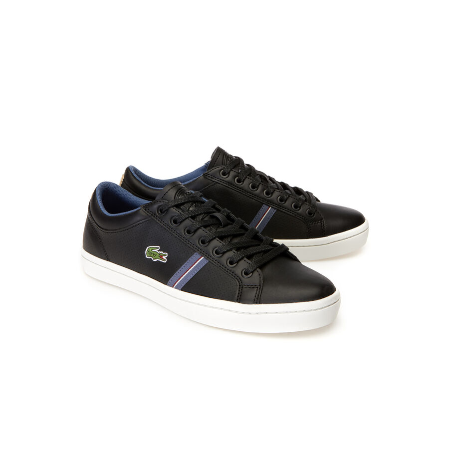 Men's Straightset Sport Leather Trainers