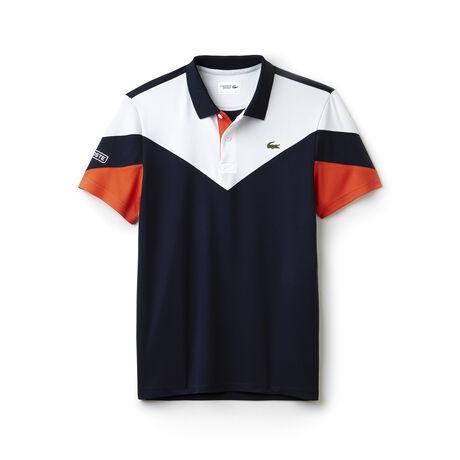 Men's Lacoste SPORT Tennis Colorblock Tech Piqué Polo