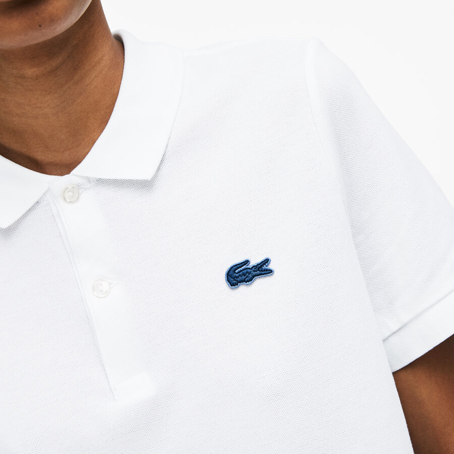 Unisex Lacoste LIVE Slim Fit Stretch Mini Piqué Polo