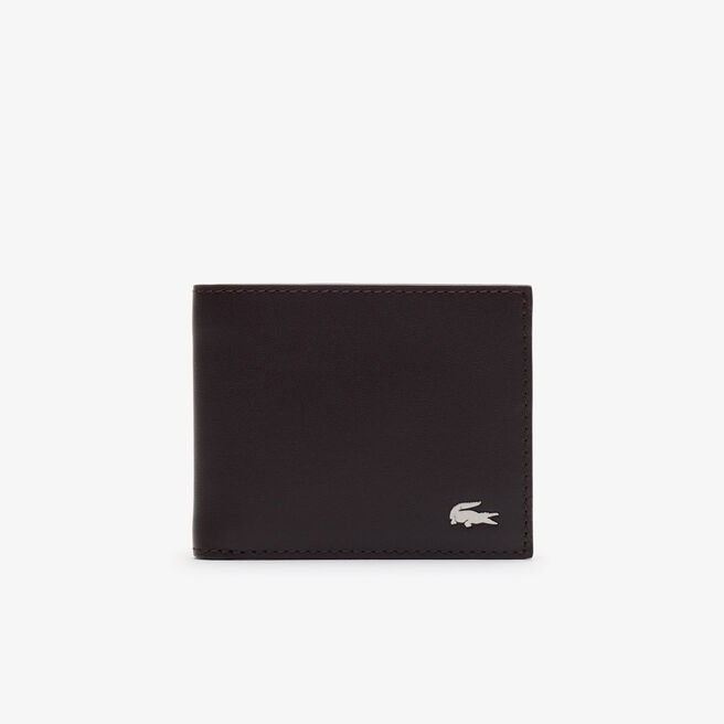 Men's FG billfold in leather with ID card holder