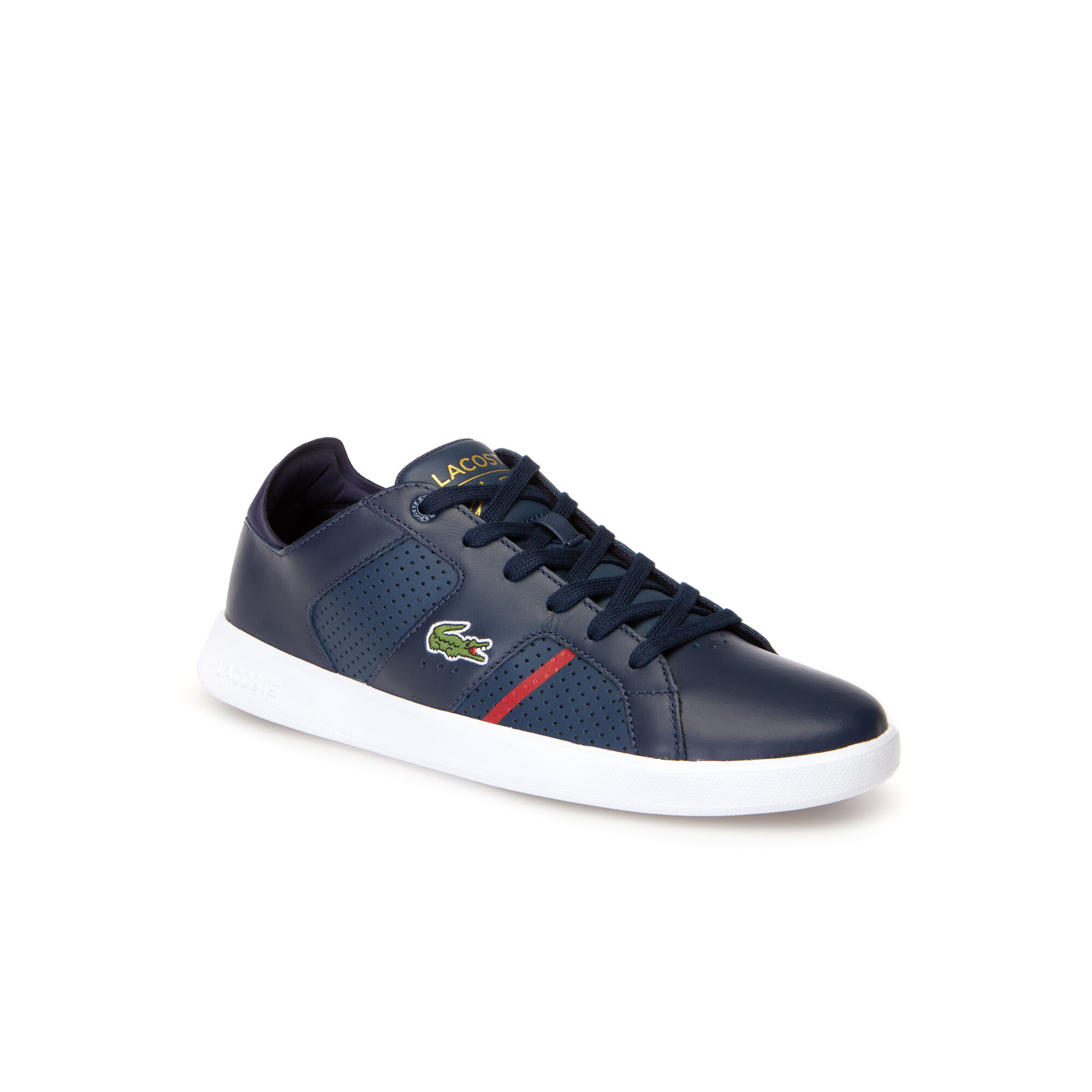 Cheap Lacoste Dark Grey Sevrin Mid-Top Trainers for Men Online