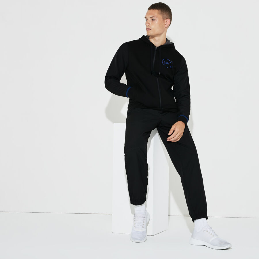 Men's Lacoste SPORT Fleece And Taffeta Tennis Tracksuit