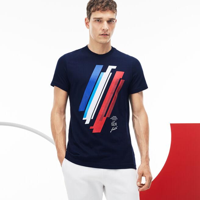 Herren-T-Shirt aus Jersey LACOSTE SPORT JEUX OLYMPIQUES